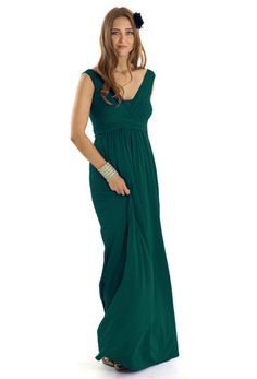 9bd5d5210424 Wrap Sleeveless Maxi Maternity   Nursing Dress by Mothers en Vogue. This is  actually a
