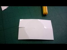 I then started to bend the styrene to remove the circle from the styrene.