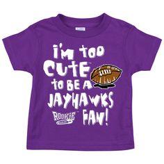 Sm-5X Smack Apparel Kansas State Football Fans Dont be a D!ck Anti-Jayhawks Purple T-Shirt