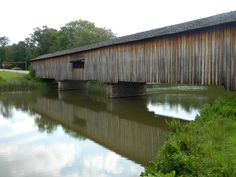 Covered Bridge From The Late 1800's