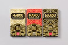 This Chocolate Packaging Design is Elegant and Stunning #food #packaging trendhunter.com