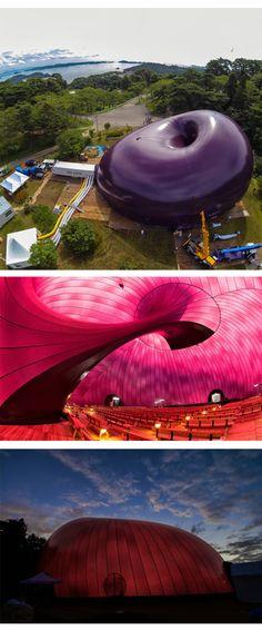 Anish kapoor concert hall and nova on pinterest for Ark nova concert hall