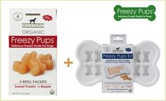 Freezy Pups are delicious organic frozen treats your pup will love! Get an amazing deal on them from this site!