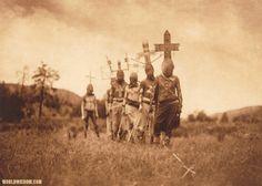"""Apache gaun"" - Apache, by Edward S. Curtis"