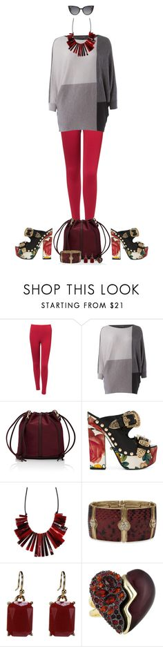 """""""Casual baroque"""" by montse-gallardo ❤ liked on Polyvore featuring Alaïa, Phase Eight, Deux Lux, FAUSTO PUGLISI, BillyTheTree, Alexis Bittar and Fendi"""