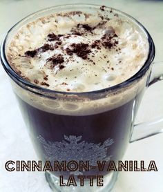 One coffee a week, this will be it: Cinnamon Vanilla Latte - Creative Styletopia