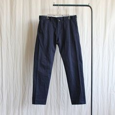 Chino Cloth Pants - standard #navy