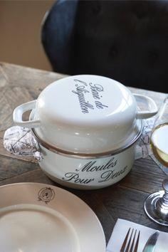 Rivièra Maison Official Online Store ® - Accessoires   Keuken- & Eetgerei   Pannen   Moules Pour Deux Pan
