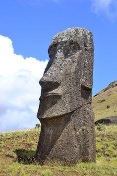 Moai on Easter Island ~