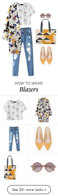 """""""ruth"""" by goodruth on Polyvore featuring WithChic, Zara and Elizabeth and James"""