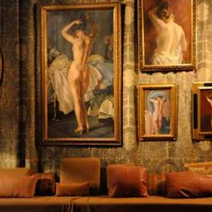@ The Palazzo Fortuny, Paintings & Fabric by Mariano Fortuny