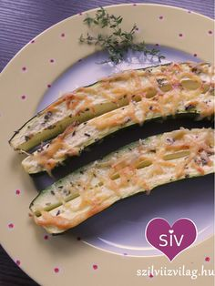 Sült cukkini - egyszerű és gyors cukkini recept Tuna, Zucchini, Paleo, Fish, Vegan, Vegetables, Healthy, Recipes, Food Ideas