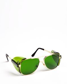 Aviator Safety Spectacles Green