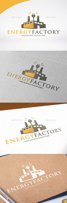 Electric Factory Logo Template #design #logotype Download: http://graphicriver.net/item/electric-factory-logo-template/13714496?ref=ksioks