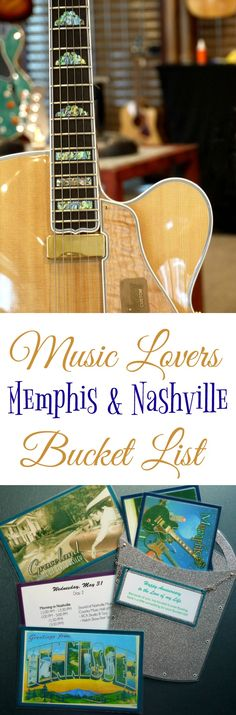 If you love music, you need to add Memphis and Nashville to your Bucket List! Before Mr B and I went on our musical adventure to Tennessee, I thought I knew a lot about the history and evolution of music in America. Not even. We both learned so much on this trip, and I can't wait to share it all with you!