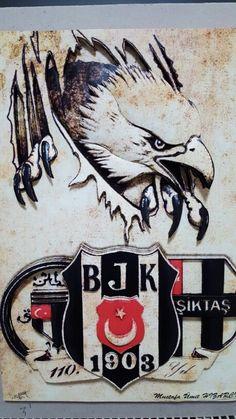 Bjk rölyef Black Eagle, Thing 1, Pyrography, Wood Burning, Kara, Painting On Wood, Eagles, Tatoos, Istanbul