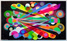 Creative Maya, Hayuk, -, Art, and Booooooom image ideas & inspiration on Designspiration Maya Hayuk, Street Art, Graffiti, Ouvrages D'art, Art Design, Art Images, Art Inspo, Print Patterns, Pattern Ideas