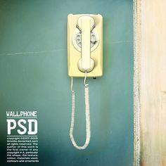 Wallphone Free PSD file - - free