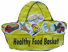 Preschool: Healthy Food Basket Craft plus more ideas for a unit on health