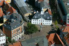 Randers cityhall, Aerial