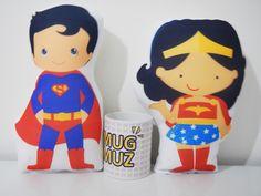 Almofada com formato Super Heróis | MUGMUZ Personalizados | Elo7