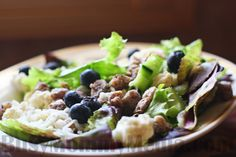 Blueberry Date Salad