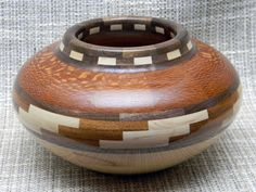 Southwest Segmented Wood Bowl from DMW Woodworking