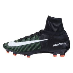 Nike Mercurial Superfly V FG - Nike Dark Lightning Pack. Speed has been redesigned, redeveloped, and reemerged with the new Nike Mercurial Superfly V. Made to keep you light on your feet and explosive, you will have no trouble blowing by defenders on any field. WorldSoccershop.com |