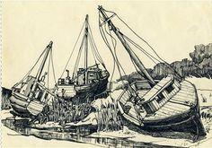 [ツ] Sylvia Plath's Drawings | Brain Pickings