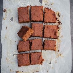 Deliciously Ella's sweet potato brownies are gluten and dairy free and are the most popular recipe on her blog