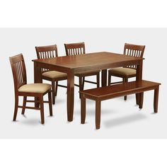 Found it at Wayfair - Dudley 6 Piece Dining Set