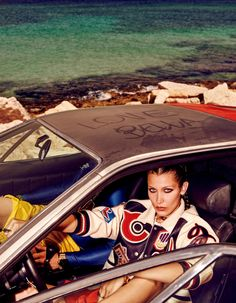 Bella Hadid by Giampaolo Sgura for Vogue Japan November 2016