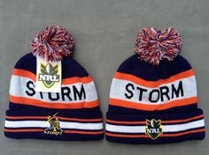 NRL Knit Hats 020 STORM Beanies Hats 8103! Only $7.90USD