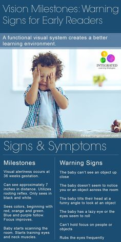 Vision Milestones: Warning Signs if Your Child isn't Meeting their Visual Milestones for Reading | ilslearningcorner.com