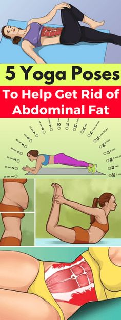 5 Yoga Poses to Help Get Rid of Abdominal Fat – leanhealthfitness