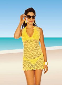 CROCHET TUNIC & SWIMWEAR — Crochet by Yana