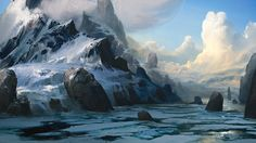hello, I want moutains for breakfast by Efflam Mercier | Fantasy | 2D | CGSociety
