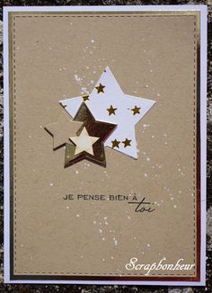 Cardlift {Chrono} de Septembre 2016 - Edit GALERIE Page1 Hand Made Greeting Cards, Christmas Greeting Cards, Christmas Greetings, Holiday Cards, Simple Christmas Cards, Christmas Frames, Christmas Art, Rainbow Crafts, Stamping Up Cards