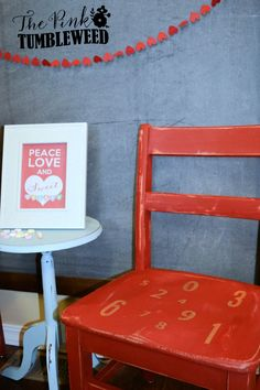 DIY children's chair