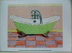 $17.50  Bathroom ART Print BY Ramona JAN Fantasy TUB IV | eBay #bathroom #bathtub #wallart