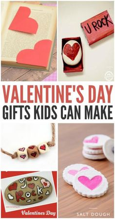 Looking for some fun and easy Valentine's Day gifts kids can make? Here are some of our favorites!