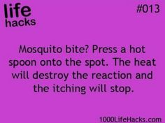 Life hacks Hmmm I hope this works. Have fun finding a hot spoon out in the woods.