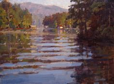 American artist James Richards painting archive