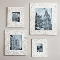 White Leighton Wall Frames | World Market