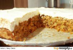 Jednoduchý mrkvový dort