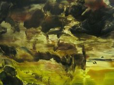 "Saatchi Online Artist Masri Hayssam; Painting, ""Storm #10  (Anatomy of nature series-2007-2009) -SOLD-"" #art"