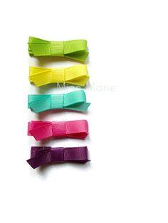 Toddler Hair Bows, Baby Hair Bows, Toddler Girl, Green Lemonade, Wispy Hair, Fringe Bangs, Pink Amethyst, Hair Slide, Fine Hair