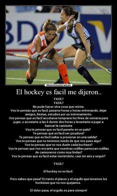 carteles hockey facil desmotivaciones Field Hockey, Team Usa, Life, Shopkins, Bullet Journal, Quotes, Photography, Hockey Memes, Hockey Decor