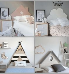 All the equipment for a cozy room! Kids Room Furniture, Bedroom Furniture, Bedroom Decor, Bedroom Wall, Furniture Ideas, Small Room Design, Kids Room Design, Cool Kids Bedrooms, Girls Bedroom