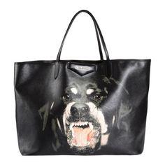 Givenchy Rottweiler Print Large Antigona Shopper at Barneys.com